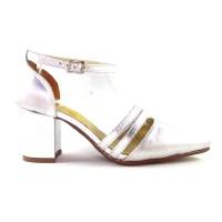 Sapato 18625 couro metalizado à escolher