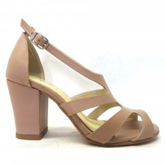 Summer Boot 5100 em couro Nude