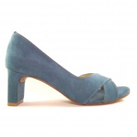 Peep Toe 21627 Azul