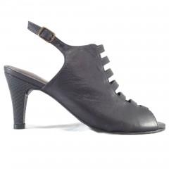 Summer Boot em couro Preto 17616